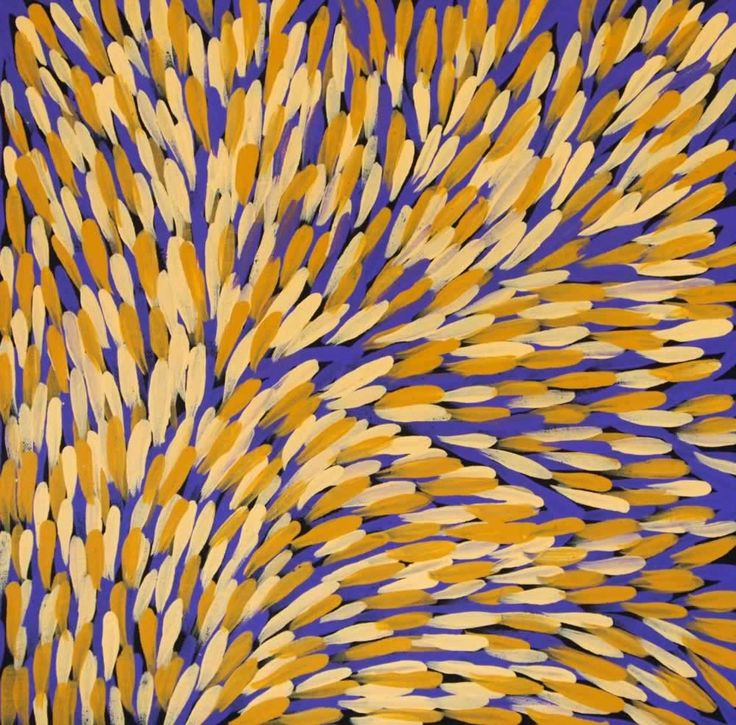 Bush Medicine Plant (GP-1001) by Gloria Petyarre http://merindahart.com.au/artists/gloria-petyarre