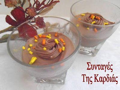 Cocoa-coconut mousse - Μους καρύδα-κακάο νηστίσιμη