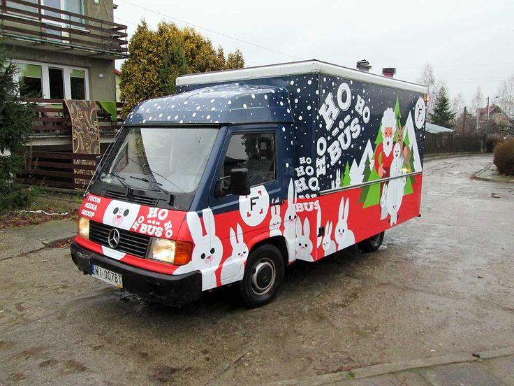 Oklejanie samochodów typu food truck