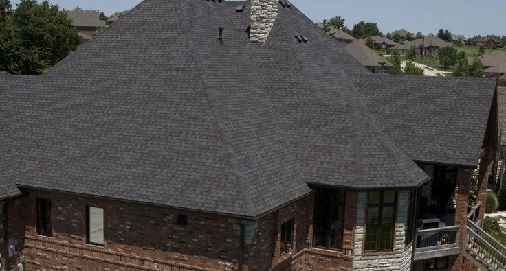 Best Tamko Heritage® Premium Heritage® In Black Walnut Roof 640 x 480