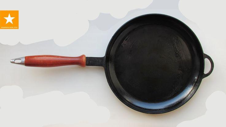 Как очистить чугунную сковороду. Как ухаживать за чугунной сковородой