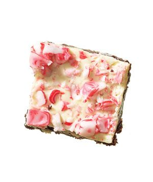 White Chocolate and Peppermint Brownies