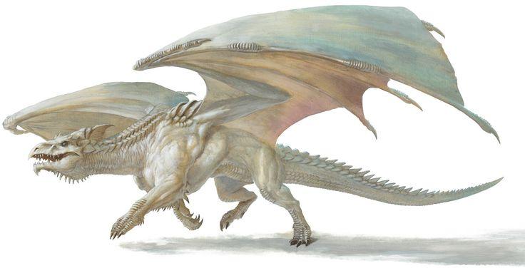 dnd white dragon - Google Search