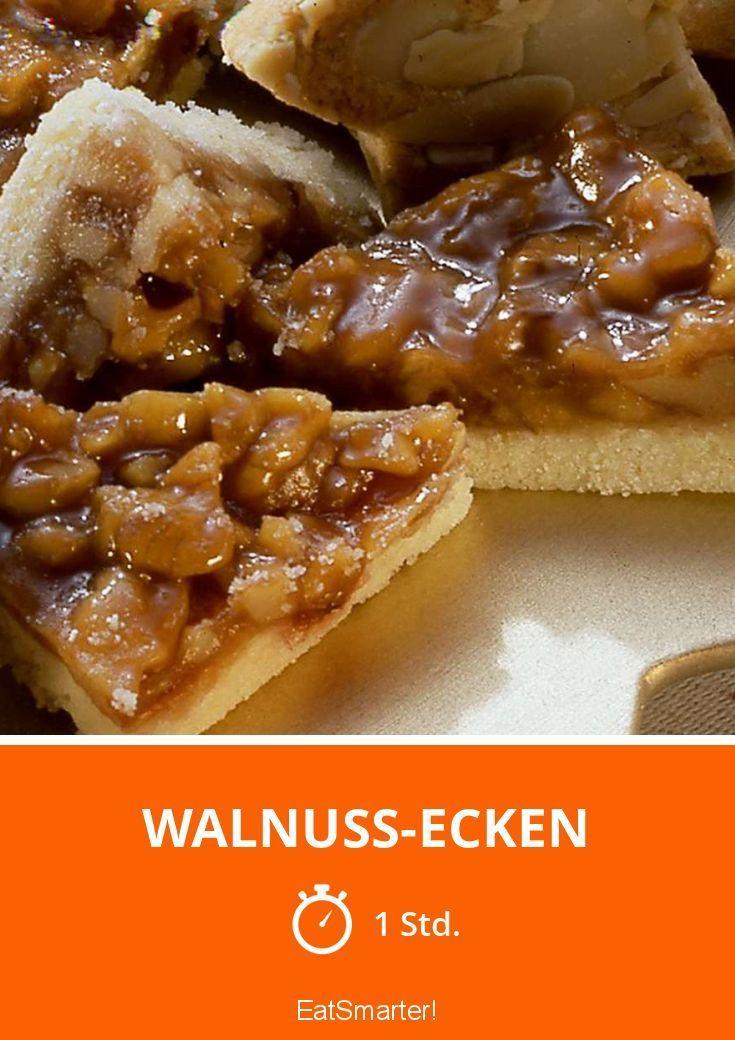 Walnuss-Ecken - smarter - Zeit: 1 Std. | eatsmarter.de