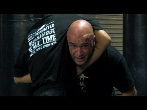 How To Bas Rutten's Escape From A Guillotine Choke