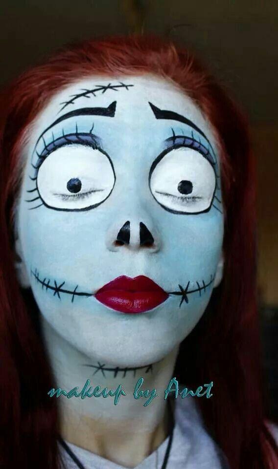 M s de 25 ideas incre bles sobre pintura facial de zombi - Pintura cara halloween ...