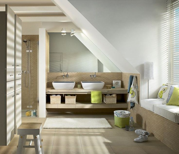 17 meilleures images propos de maison loft sur pinterest for Amenagement cuisine mansardee