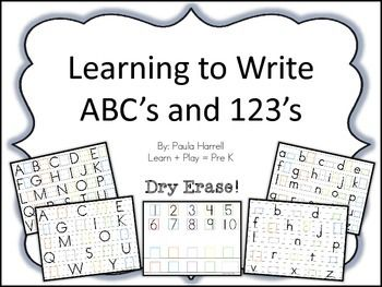 Scholastic Early Learners: Write and Wipe ABC 123 by Inc. Staff Scholastic (2015, Board Book)