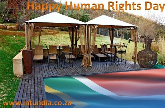 Although we are in different boats you in your boat and we in our canoe we share the same river of life. Happy Human Rights Day!
