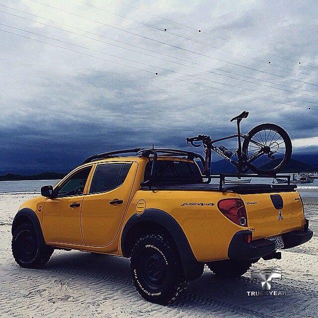 Yellow Force! Mitsubishi L200 Triton Savana, Com Pneus BF