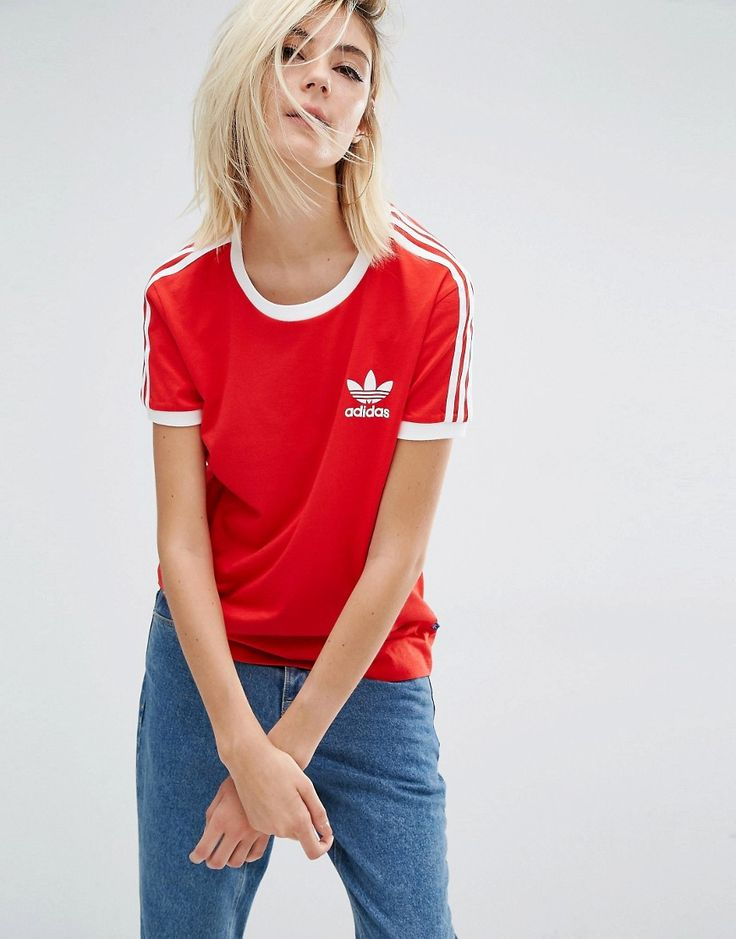 Adidas Originals California Three Stripe T-Shirt