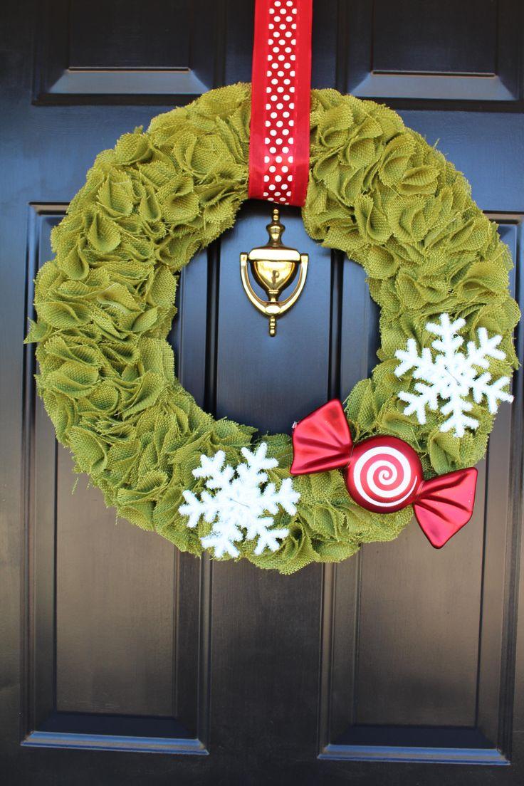 DIY Christmas Wreath : DIY Christmas Wreath