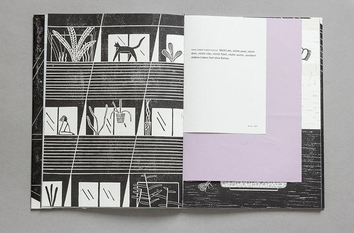 It's Nice That | Berlin-based illustrator Riikka Laakso's lino printed book…