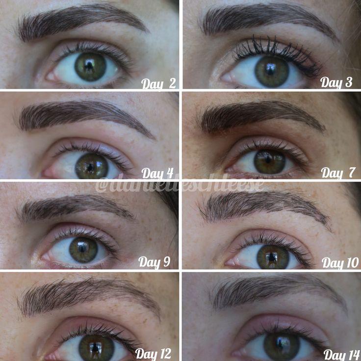 Microblading Healing Process   Microblading healing process in 2019   Microblading eyebrows ...