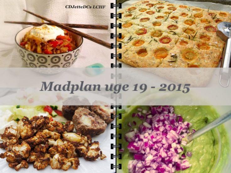 CDJetteDC's LCHF: MADPLAN uge 19 - 2015
