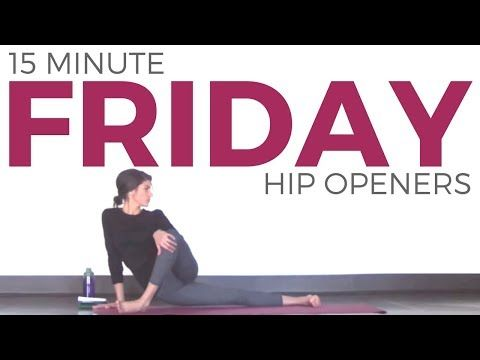 Friday - Feel Good Hip Opening Hatha Yoga Routine   7 Day