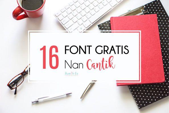 16-font-gratis-nan-cantik