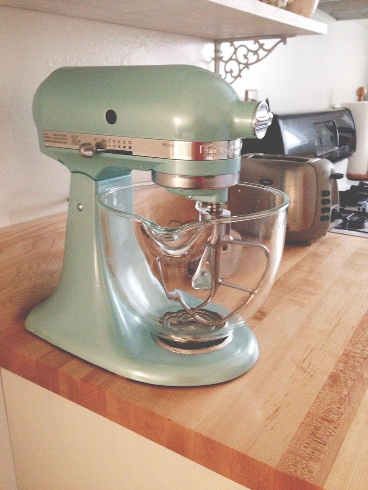 Azure blue kitchenaid mixer my home wish list pinterest
