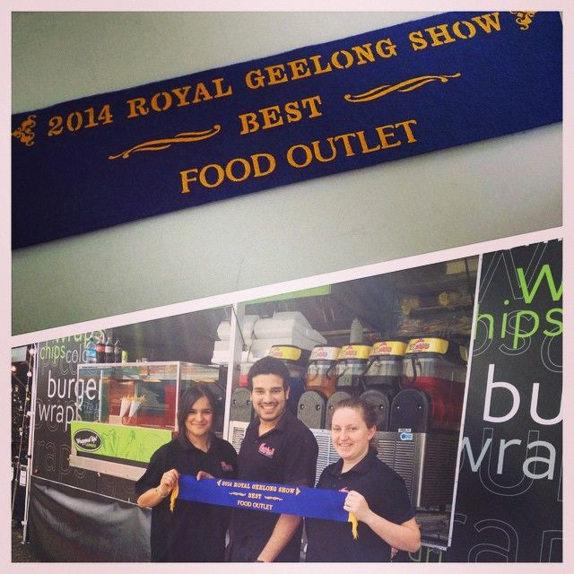#FiestaEvents 2014 Royal Geelong Show BEST food outlet #bestfood