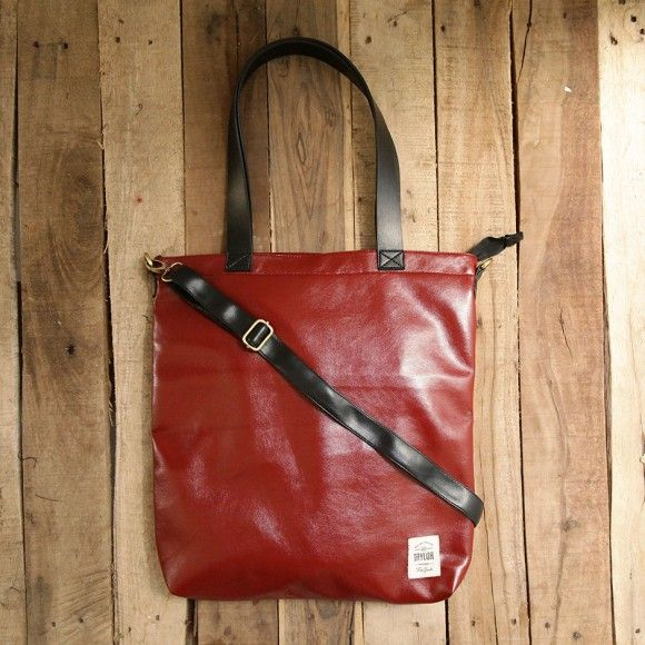 totebag 201 red. $ 25.83. material: leather. size: 40 x 35 x 6 cm. #totebag #totebagleather