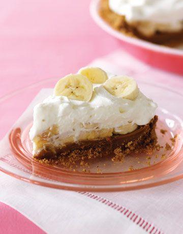 Trying this!! Dulce de leche banana cream pie!