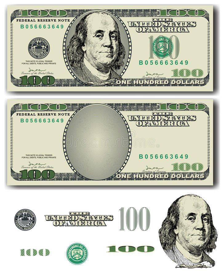 Picture Of 100 Dollar Bill Images