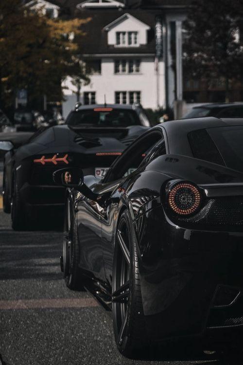 classyxsexxy:  Ferrari x Lamborghini. | cXs