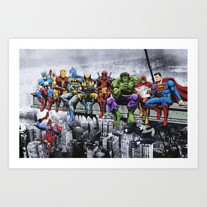 Spider-Man Hot Marvel Superhero Comic Movie Art Poster Print Decor Y734