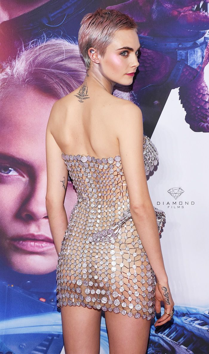 Cara Delevingne's Naked Minidress Must Be Seen From Every ...