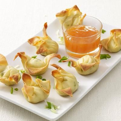Easy Appetizers: Baked Crab Rangoon