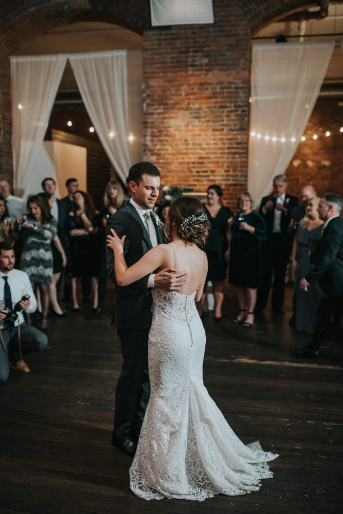 Cozy Industrial Seattle Wedding At Axis Pioneer Square Wedding