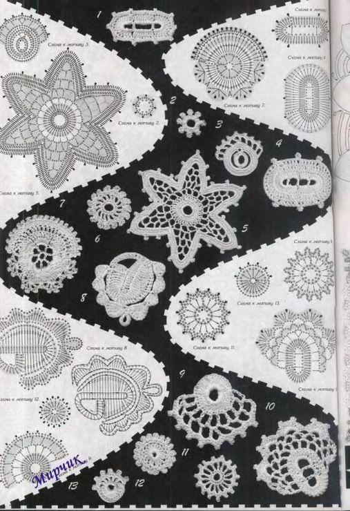 Irische Häkelei / irish crochet