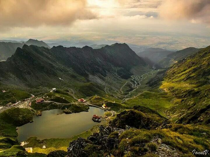 Balea Lake,  Transfagarasan mountains, Romania