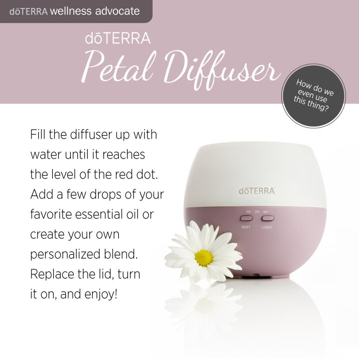 A couple different blends I like to use for in my Petal Diffuser