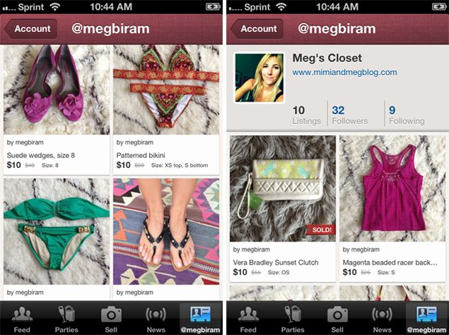 Helpful apps and sites where you can sell secondhand clothing and accessories. I've made over $50 selling two items on #threadflip with minimal effort in the past 2 months.   How to Sell Your Clothes Online Without Using eBay via the Washingtonian. #threadflip #poshmark #klury #storenvy
