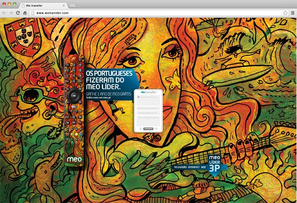 wetransfer backgrounds   client meo 3p project wetransfer background for meo 3p campaign agency ...