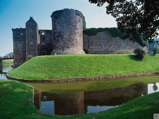 Rothesay Castle. Isle of Bute, Scotland. Ancestral home of the Stewart family.