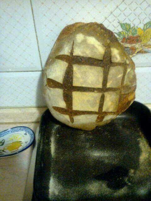 Pane con farina di semola e lm