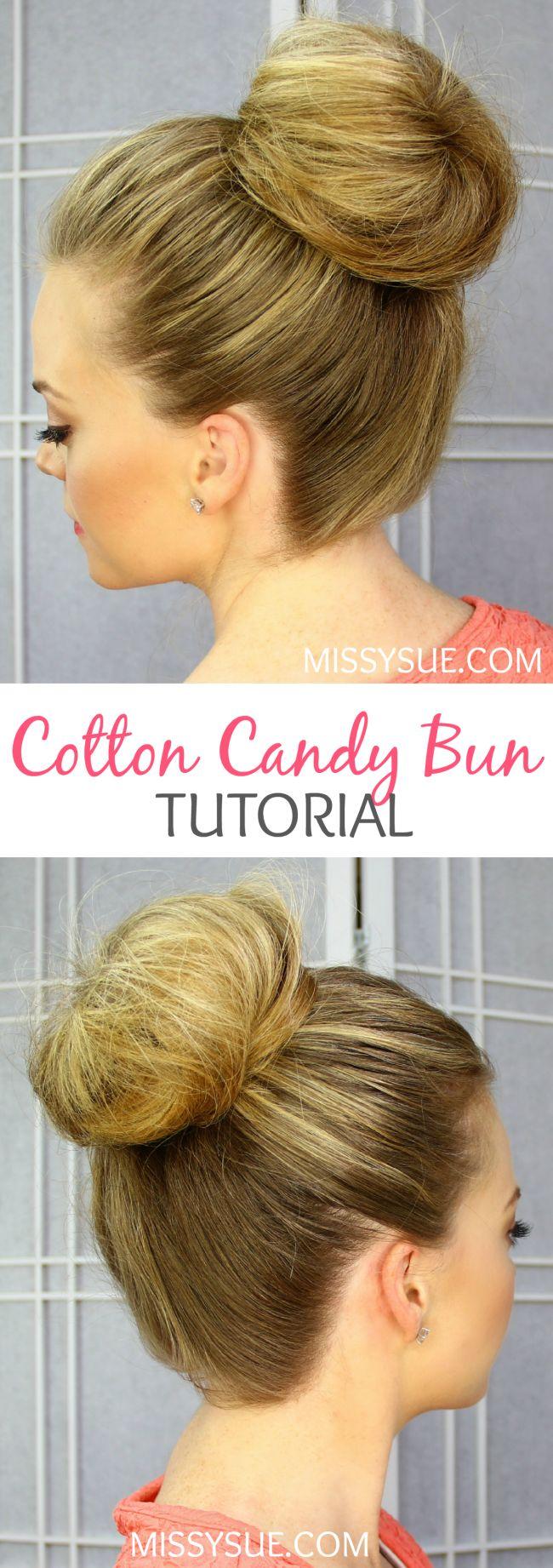 Cotton Candy Bun