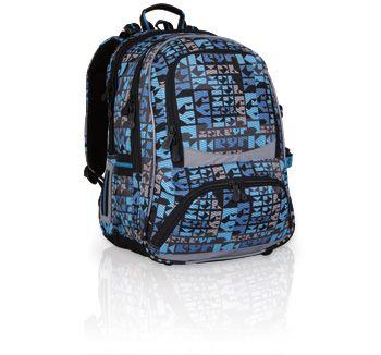 Plecak szkolny od 3 do 6 klasy. Plecak w młodzieżowym designie, który jest stonowany oraz poważniejszy.