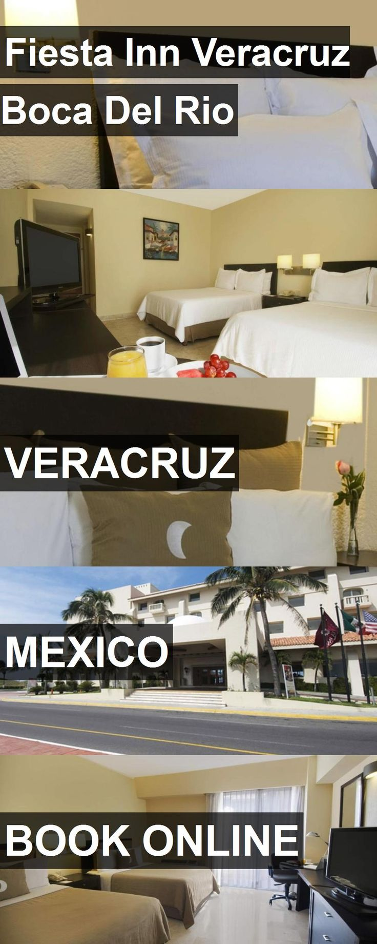 Hotel Fiesta Inn Veracruz Boca Del Rio in Veracruz, Mexico. For more information, photos, reviews and best prices please follow the link. #Mexico #Veracruz #FiestaInnVeracruzBocaDelRio #hotel #travel #vacation