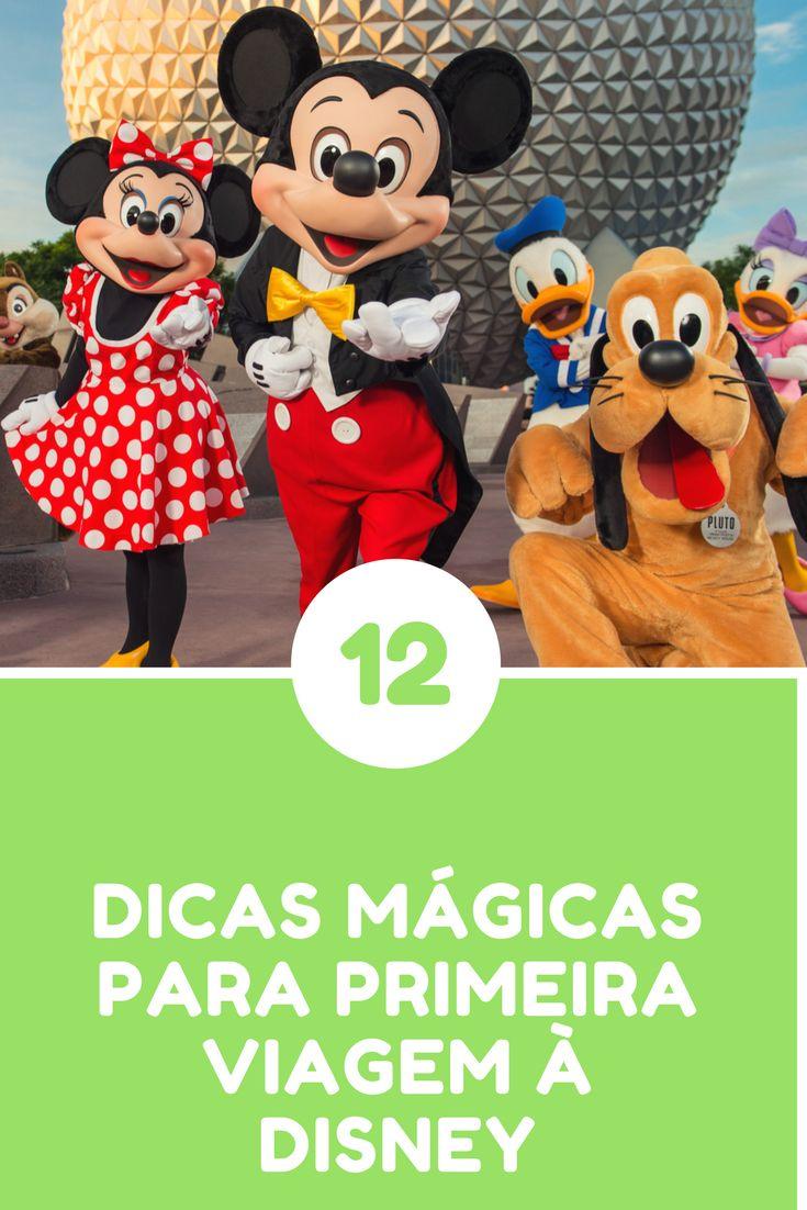 12 Dicas mágicas para primeira viagem à Disney. Se já visitou veja nossa lista e nos diga se concorda ;) #disney #dicaDisney