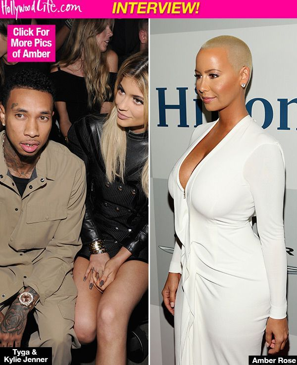 Amber Rose Accuses Tyga Of Cheating On Kylie Jenner With Blac Chyna In 'GQ' Interview