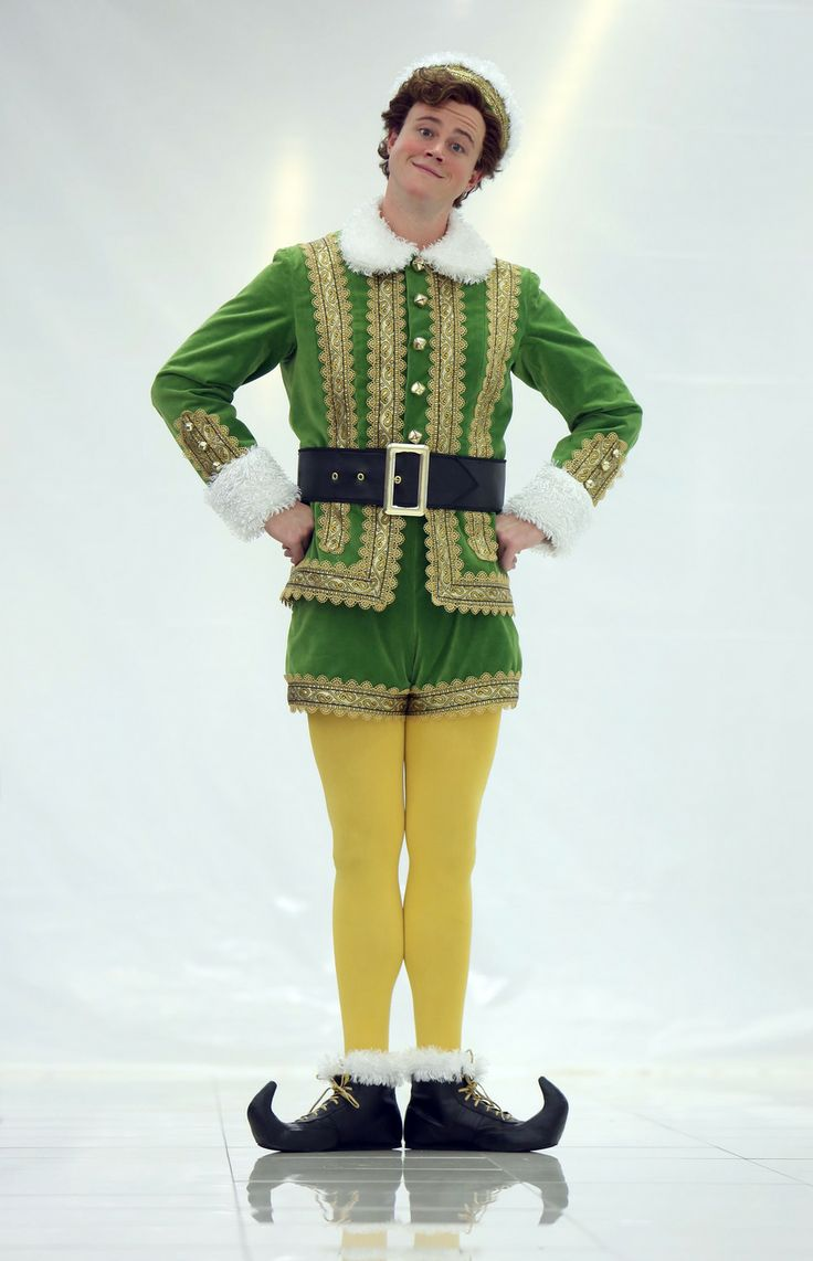 """Actor Quinn VanAntwerp plays Buddy in """"Elf,"""" the musical theater version of the movie as part of Pioneer Theatre's latest production. (Francisco Kjolseth     The Salt Lake Tribune)"""