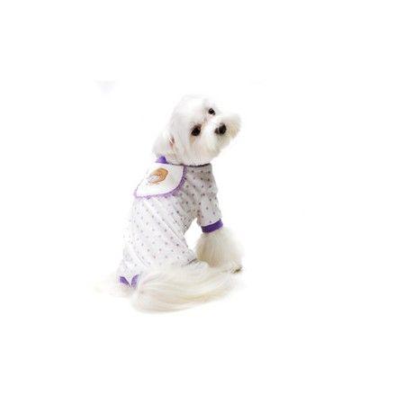 """Pijama para Perro """"Ovejita"""" - KUKA´S WORLD - Ropa y Accesorios exclusivos para Perros. Moda Canina de Diseño y Artículos para Mascotas con estilo. Designer Dog Clothes and Luxury Accessories for Pets! www.kukasworld.com/"""