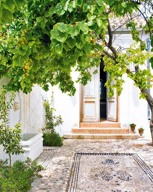 This charming house in Malaga, Spain, has an eclectic mix of Spanish, Swedish, French, Moorish styles