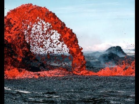 10 Most Active Volcanoes - YouTube