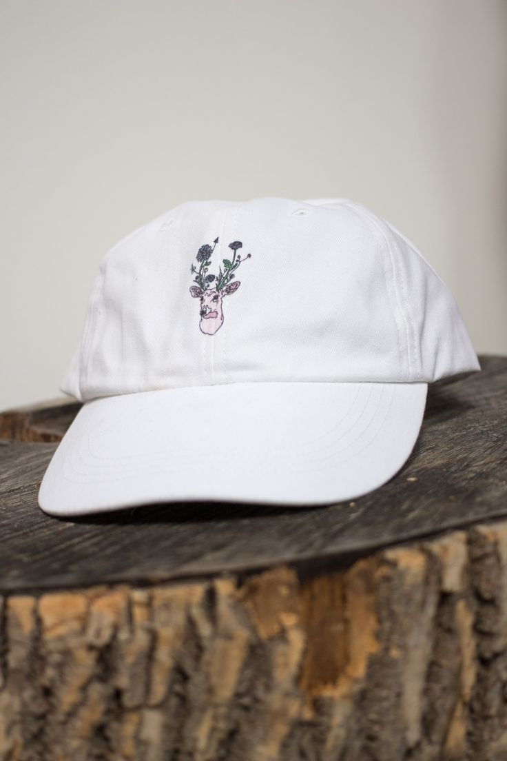 New dad-style baseball caps with the Hi Deer logo. https://www.marisapclark.com/