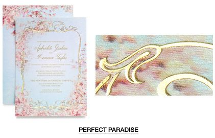 Is it over the top to have a Claire Pettibone dress and invitation? #weddinginvitations #clairepettibone