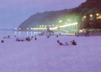 Gdynia - my beach at dusk